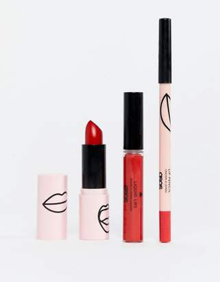 Asos DESIGN Design Makeup Red Lips Collection -