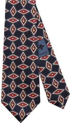 Gucci Geometric G tie