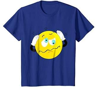 Confused Emoticon Emoji T Shirt Sales Today