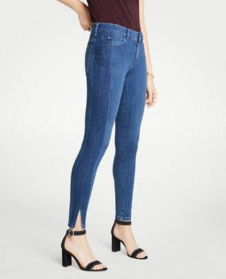 Ann Taylor Tall Modern Side Stripe All Day Skinny Jeans