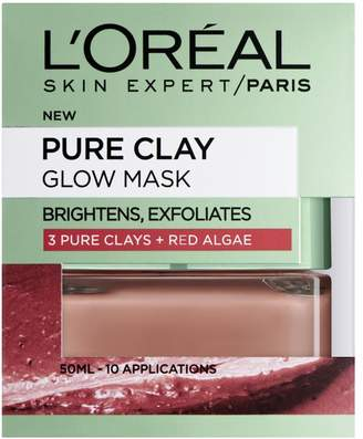 L'Oreal Paris Pure Clay Red Algae Glow Face Mask 50ml