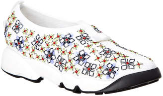 Christian Dior Floral Embroidered Sneaker