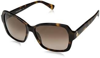 Cole Haan Women's Ch7007 Plastic Rectangular Sunglasses