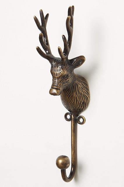 Anthropologie Creature Kingdom Hook, Deer