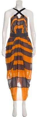 Marc Jacobs Striped Maxi Dress