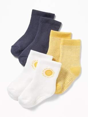 Old Navy Crew Socks 3-Pack for Baby