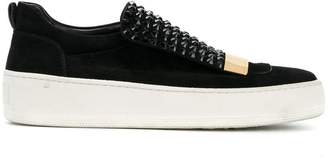 Sergio Rossi studded Blair sneakers