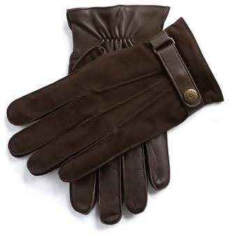 Dents Gloves Dents Marlborough Wool Lined Nubuck & Leather Gloves in Brown