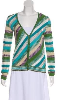 Missoni Patterned Knit Cardigan