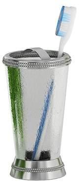 Lark Manor Larocque Glass/Metal Toothbrush Holder