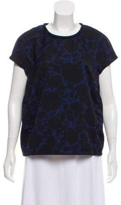 Marc by Marc Jacobs Printed Short Sleeve Top