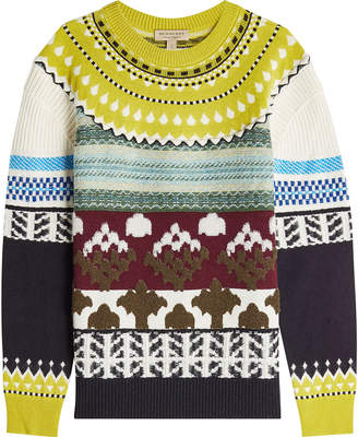 Burberry Thormont Knit Pullover with Cashmere, Wool and Mohair