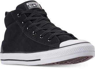 Converse Men's Chuck Taylor Street Mid Varsity Jacket Casual Sneakers