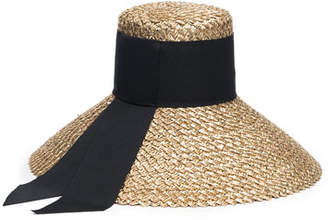 Eugenia Kim Mirabel Straw Sun Hat w/ Grosgrain Hat Band