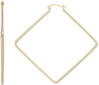 Lf By Lisa Freede LF Lisa Freede Kim Square Hoop Nickel Free Earrings