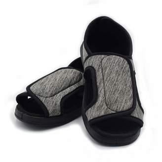 042775c534e7 Mei MACLEOD Women Extra Wide Width Arthritis Edema Open Toe Slipper  Non-Slip Diabetic Swollen