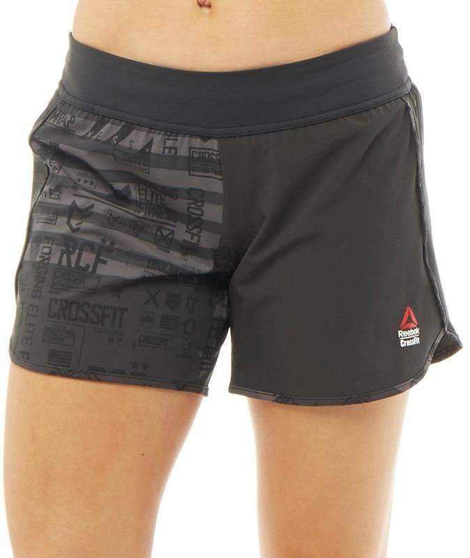Damen CrossFit Speedwick 5 Inch Shorts Schwarz