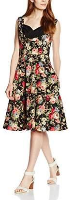 Ophelia Lindy Bop Women's Floral Dress
