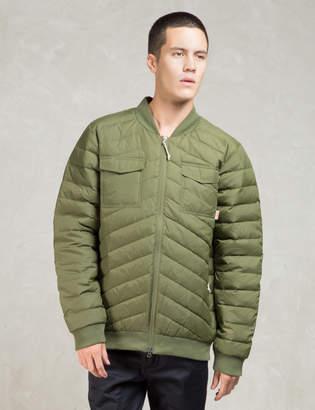Poler Olive Down Bomber Jacket