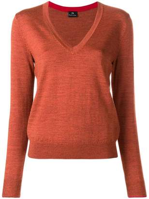 Paul Smith deep V-neck sweater