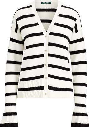 Ralph Lauren Striped Cotton Cardigan