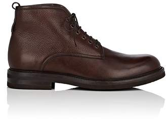 Antonio Maurizi MEN'S LEATHER LACE-UP BOOTS