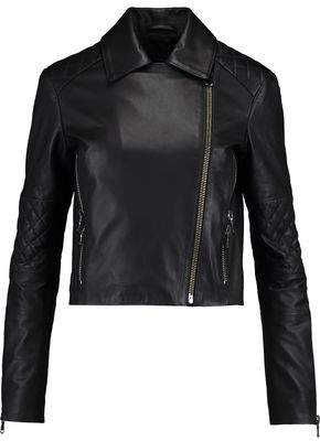 J Brand Adaire Leather Biker Jacket