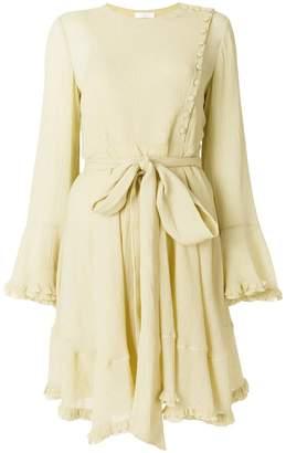 Chloé asymmetric button dress