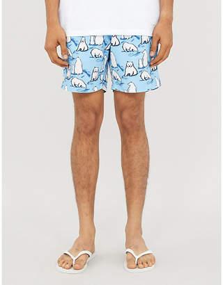 BLUEMINT Arthus polar bear-print swim shorts