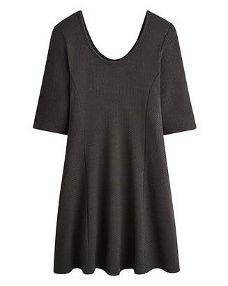 Simply Be Textured Jersey Skater Tunic