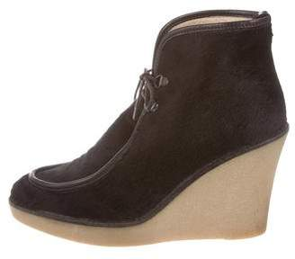 3.1 Phillip Lim Wedge Ankle Boots