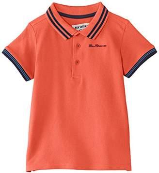 Ben Sherman Boy's Classic Short Sleeve Polo Shirt