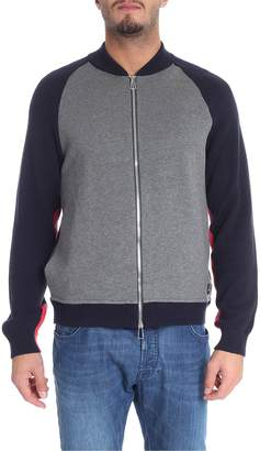 Paul Smith Crew Neck Zipped Cardigan
