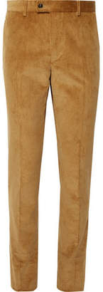 Piombo MP Massimo Camel Cotton-Corduroy Suit Trousers