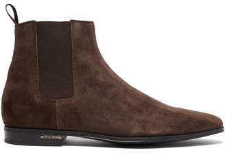 5222293ce8d Paul Smith Hampton Suede Chelsea Boots - Mens - Brown