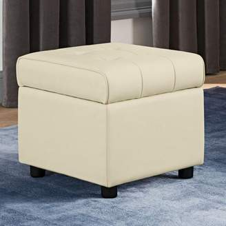 DHP Emily Square Storage Ottoman, Available in Various Colors