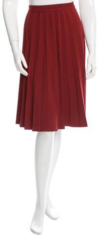 Kate SpadeKate Spade New York Pleated Knee-Length Skirt