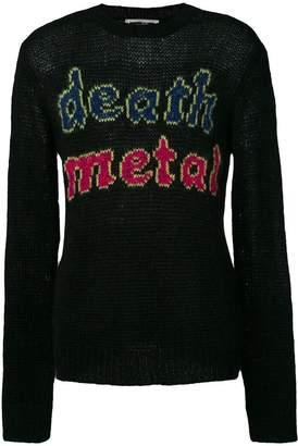 McQ Death metal jumper