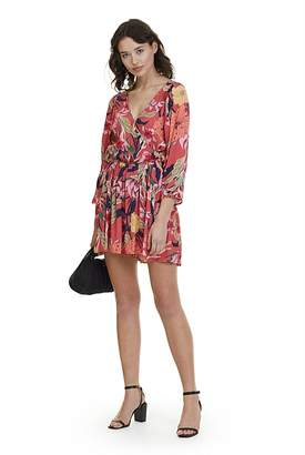 Country Road Floral Playsuit