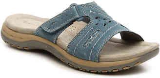 Women's Sizzle Flat Sandal -Blue $70 thestylecure.com