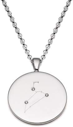 Harry Rocks - Leo Constellation Silver & Diamonds Necklace