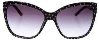 Dolce & Gabbana Star Cat-Eye Sunglasses
