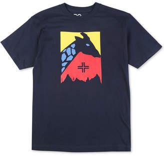 Lrg Men Color Focus Giraffe Logo Graphic T-Shirt