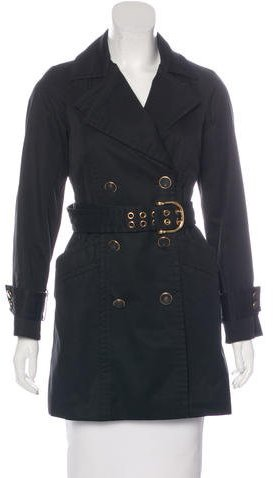 Gucci Double-Breasted Belted Coat