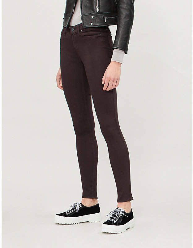 Verdugo mid-rise ultra-skinny jeans