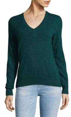 Lord & Taylor Vintage V-Neck Cashmere Sweater
