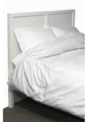 Lintex Linens 600 Thread Count Twill 3-Piece White Duvet Set, King