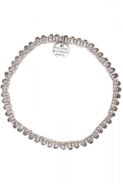 Styleserver DE Philippe Audibert Armband Broome Swarovski denim silber