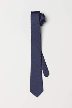 H&M Dotted Tie - Blue