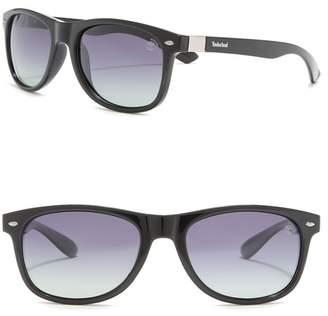 Timberland Rectangular 56mm Sunglasses